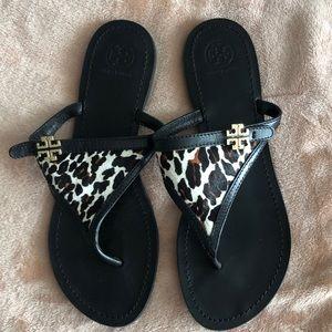 Tory Burch Cheetah Sandals
